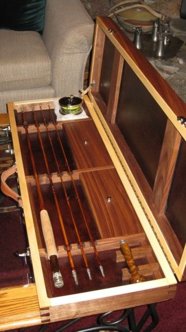 Wood Fly Rod Case Leslie S Fly Rod Case Woodworking