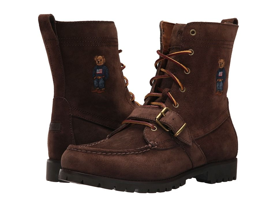 new products f446e 7d671 Polo Ralph Lauren Ranger B Men s Shoes Brown