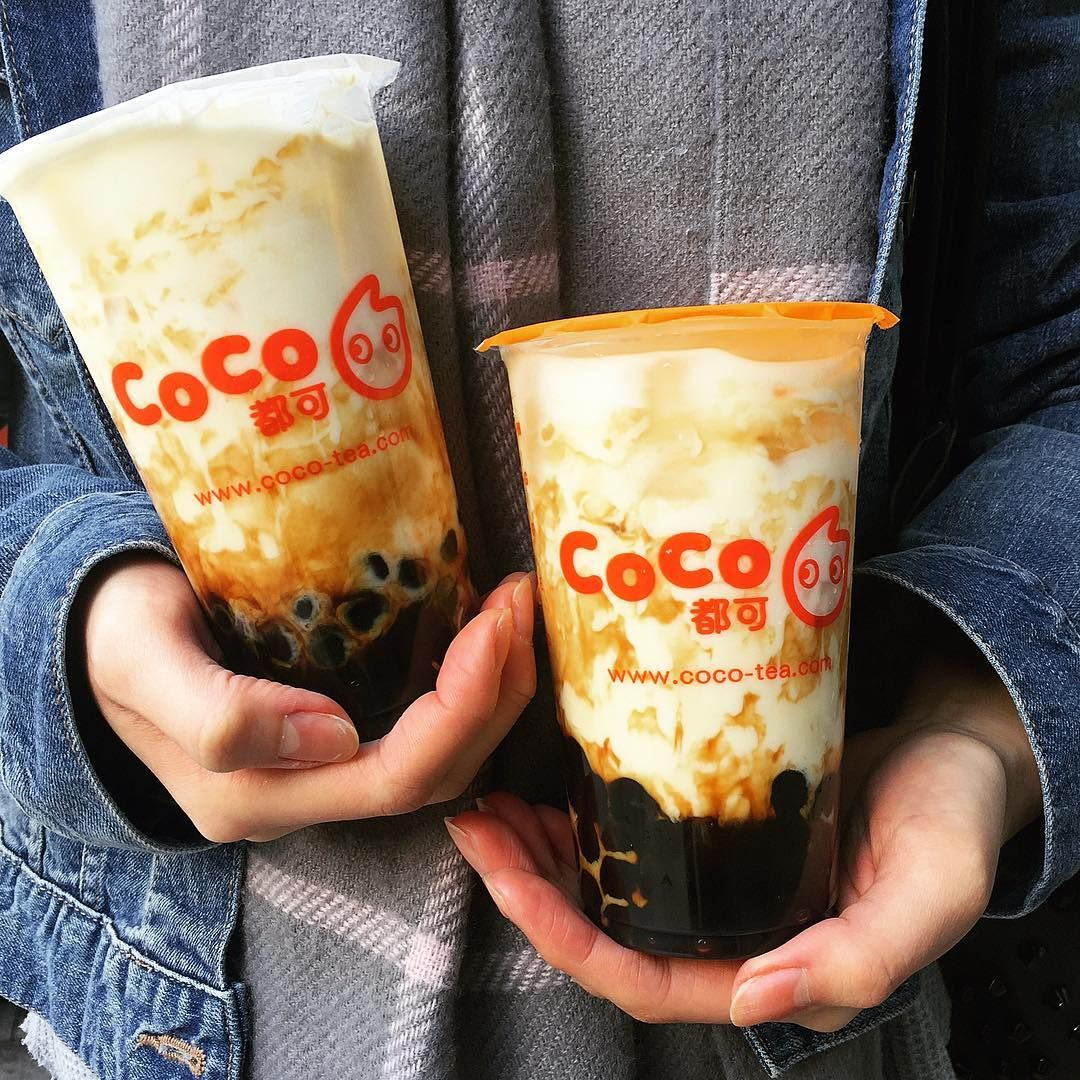 The Brown Sugar bubble milk tea hype has arrived at @cocotea