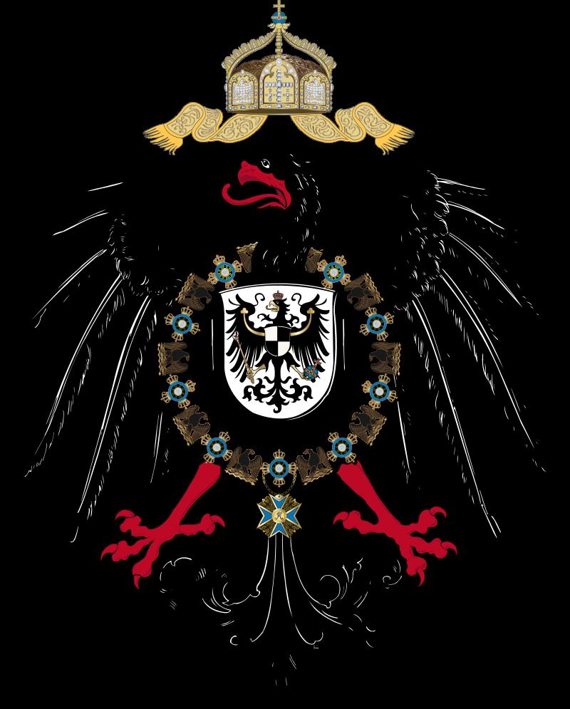 Allemagne-tshirt Adler Preussen riche