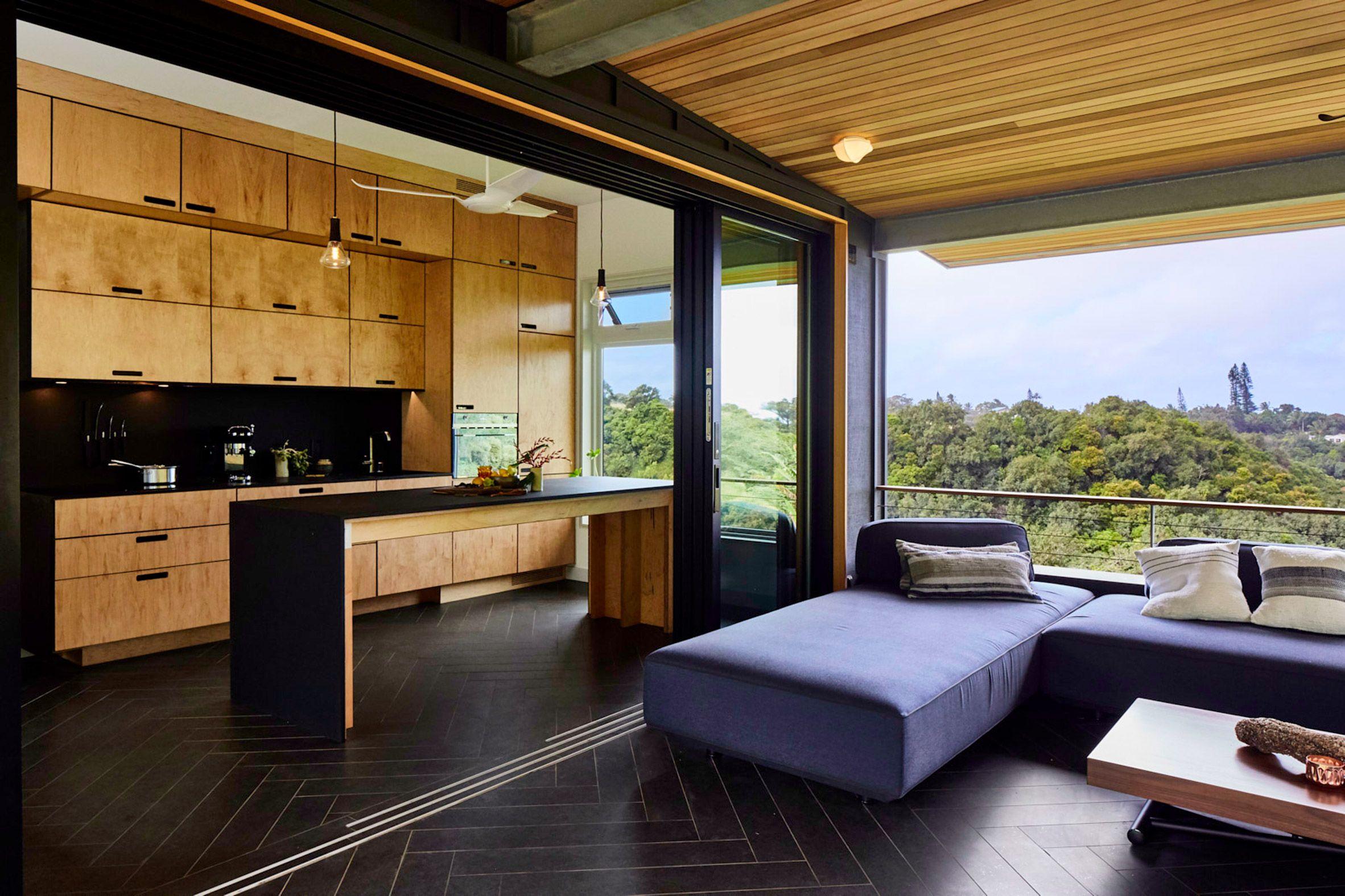 Maui House By Lifeedited The Two Storey House Sits On A Steep