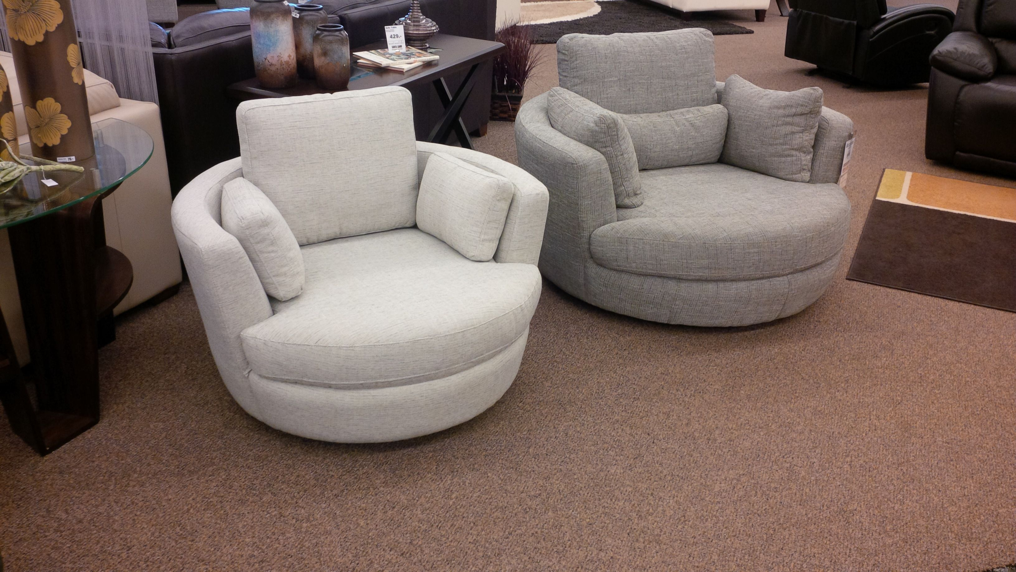 Check out this awesome new Nuzzle Swivel Chair! This is a ...