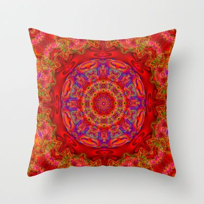Circle of love Throw Pillow by JT Digital Art  - $20.00