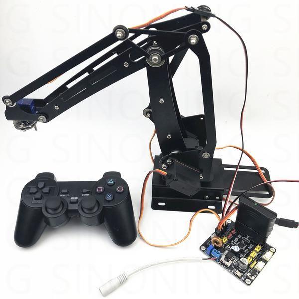 Arduino 4dof robot arm abb industrial palletizing - Minimum temperature for painting ...
