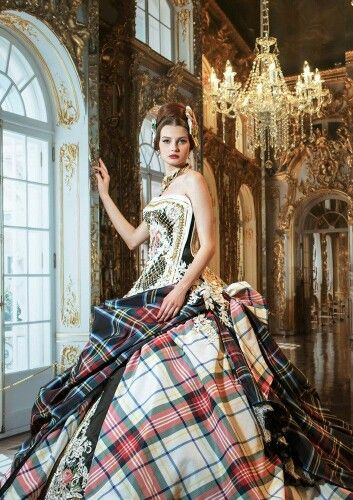 Stella de Libero | Fashion | Tartan dress, Tartan fashion ... Тартан Платье