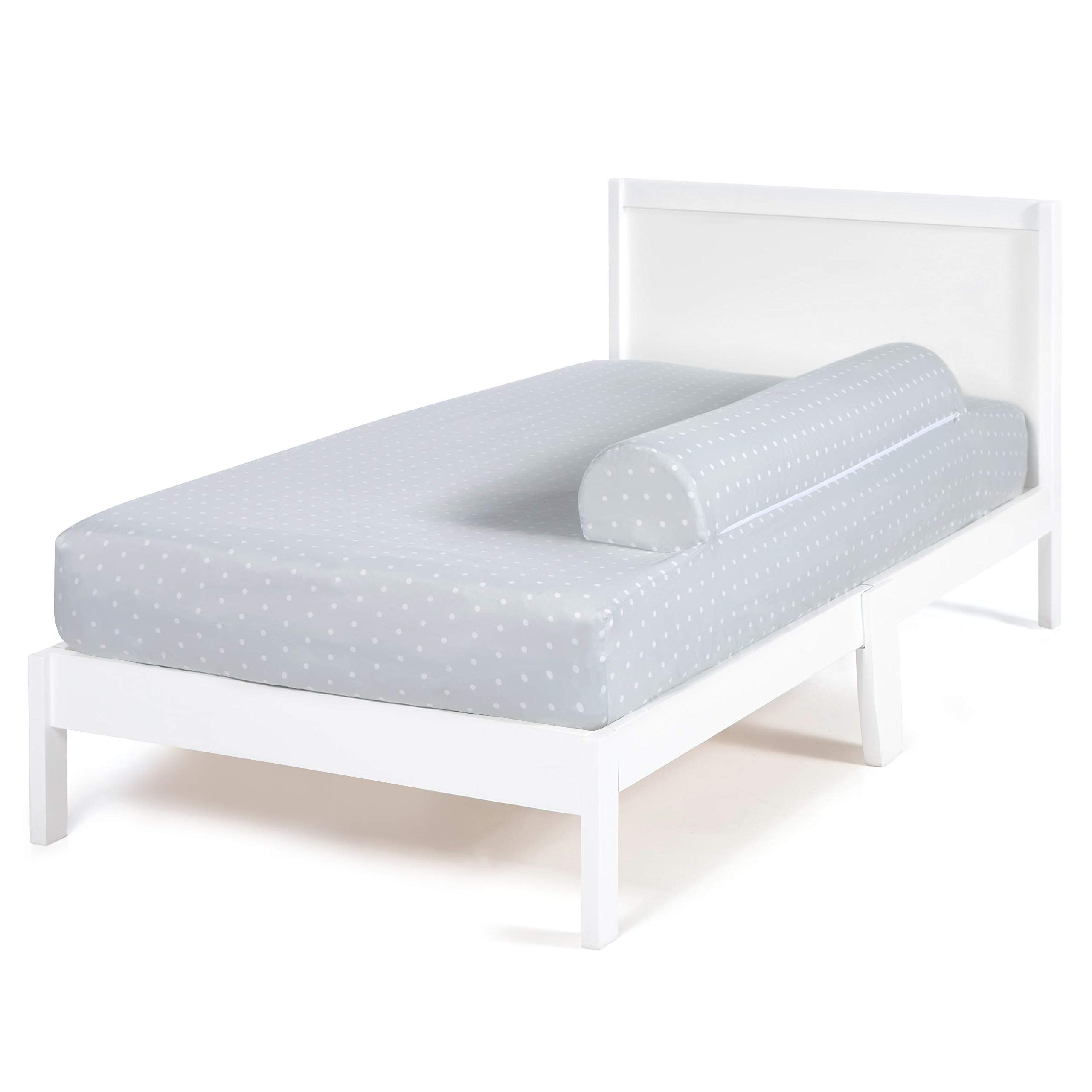 Milliard Bed Bumper With Attached Sheet For Toddler Bed Foam