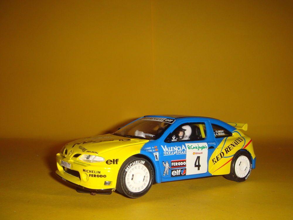 Coche Scalextric Renault Maxi Megane buen estado