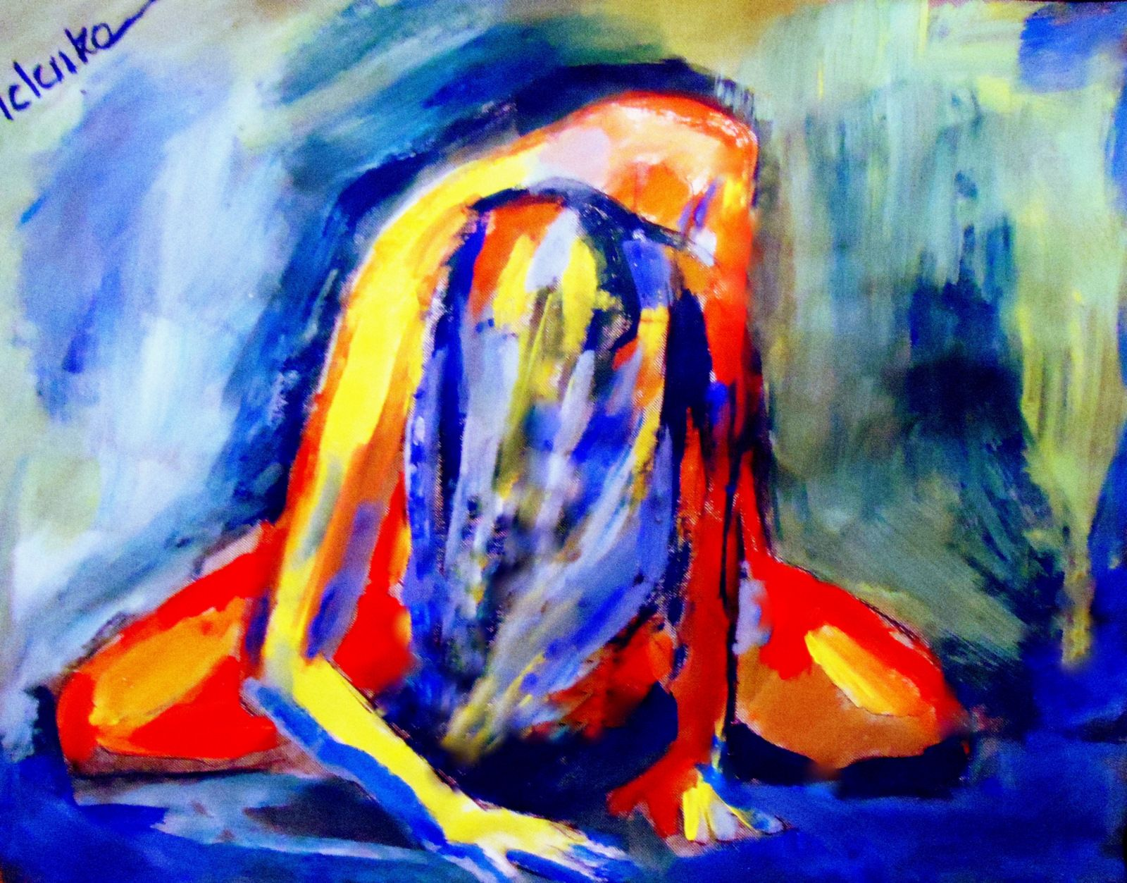 Expressionist painting