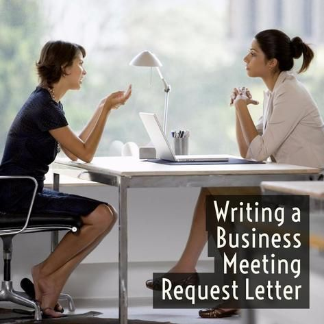 Writing A Business Meeting Request Letter (With Sample) | Business