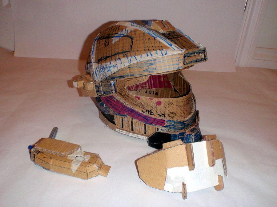 how to make Halo Reach Recon Helmet foam - Google keresés