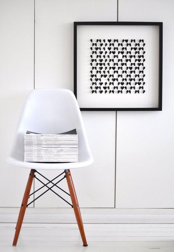 Eames Chair Need! Pinterest Schwarz rot, Gelb und Rot - wohnzimmer schwarz rot weiss