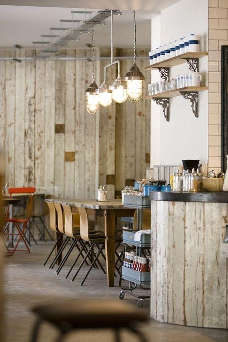 Rustic Retail Interior Design Interiors And Cafe