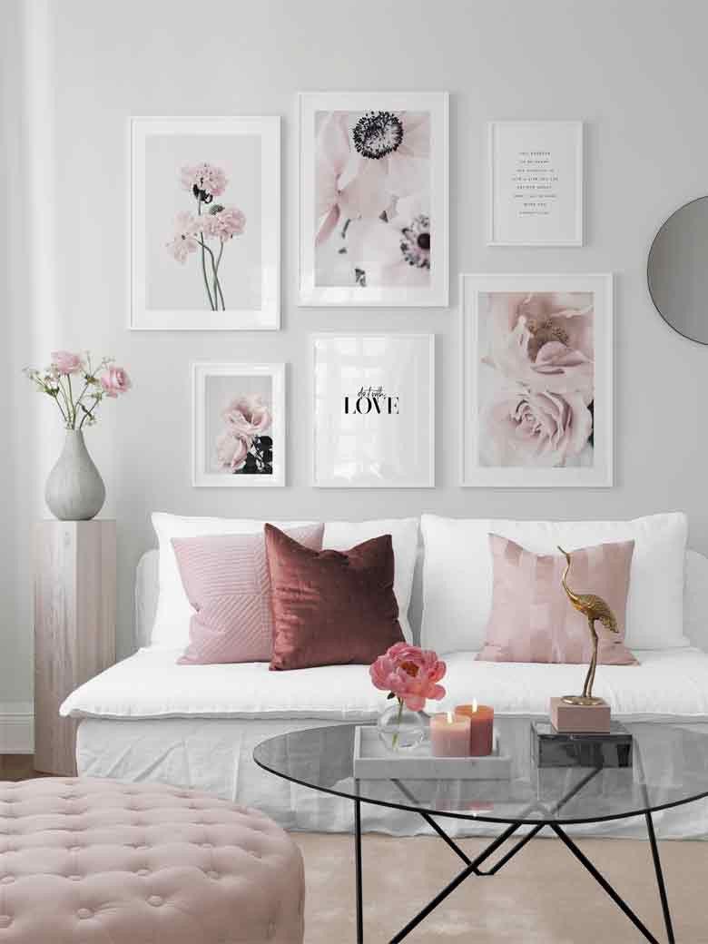 10 einzigartige Wanddekor-Ideen, um Ihren Wohnsitz zu dekorieren