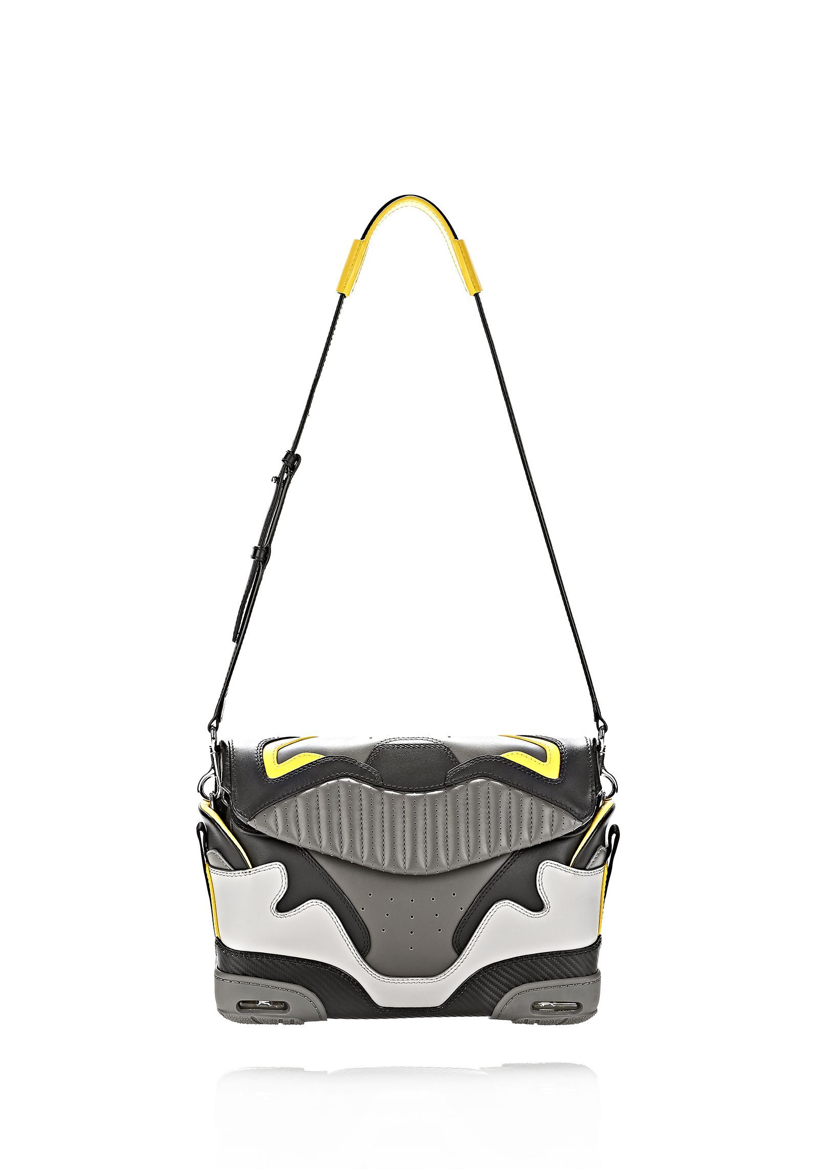 exclusive large sneaker sling in exhaust and limonite shoulder rh pinterest com