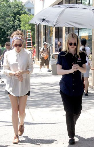 Elizabeth Olsen and Dakota Fanning Are 'Very Good Girls' As They Team Up For New Film   Hot Topics