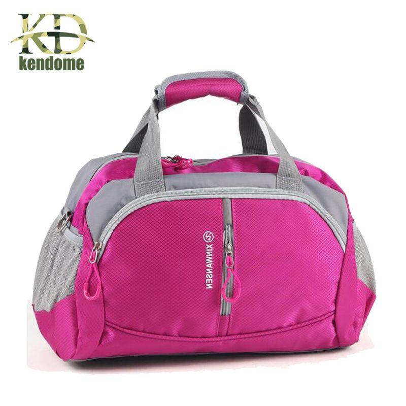 1e9d2c2d купить 2018 Профессиональный нейлон Водонепроницаемый спортивная сумка wo  Для мужчин для спортзала Фитнес Training плеча сумки сумка yoga сумка  чемодан