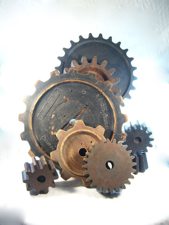 Reserved For Ashley Lot 13 Wooden Gear Wooden Gears