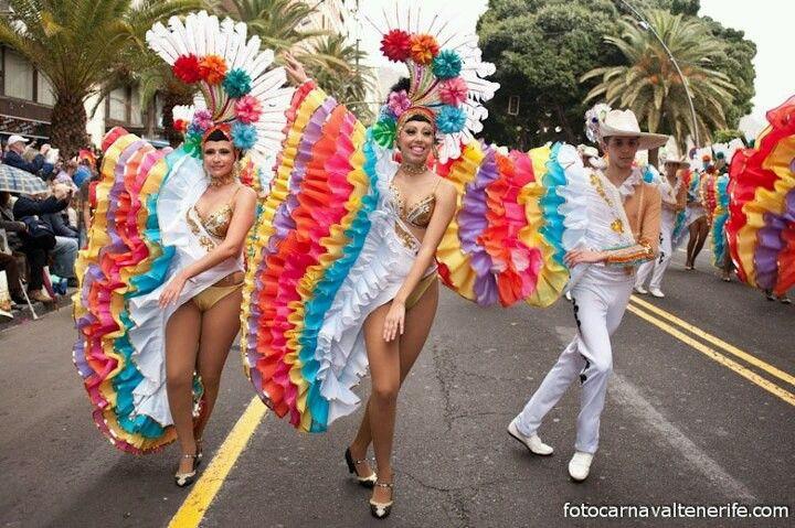 Carnaval Tenerife Com Imagens Carnaval Trajes De Danca Do