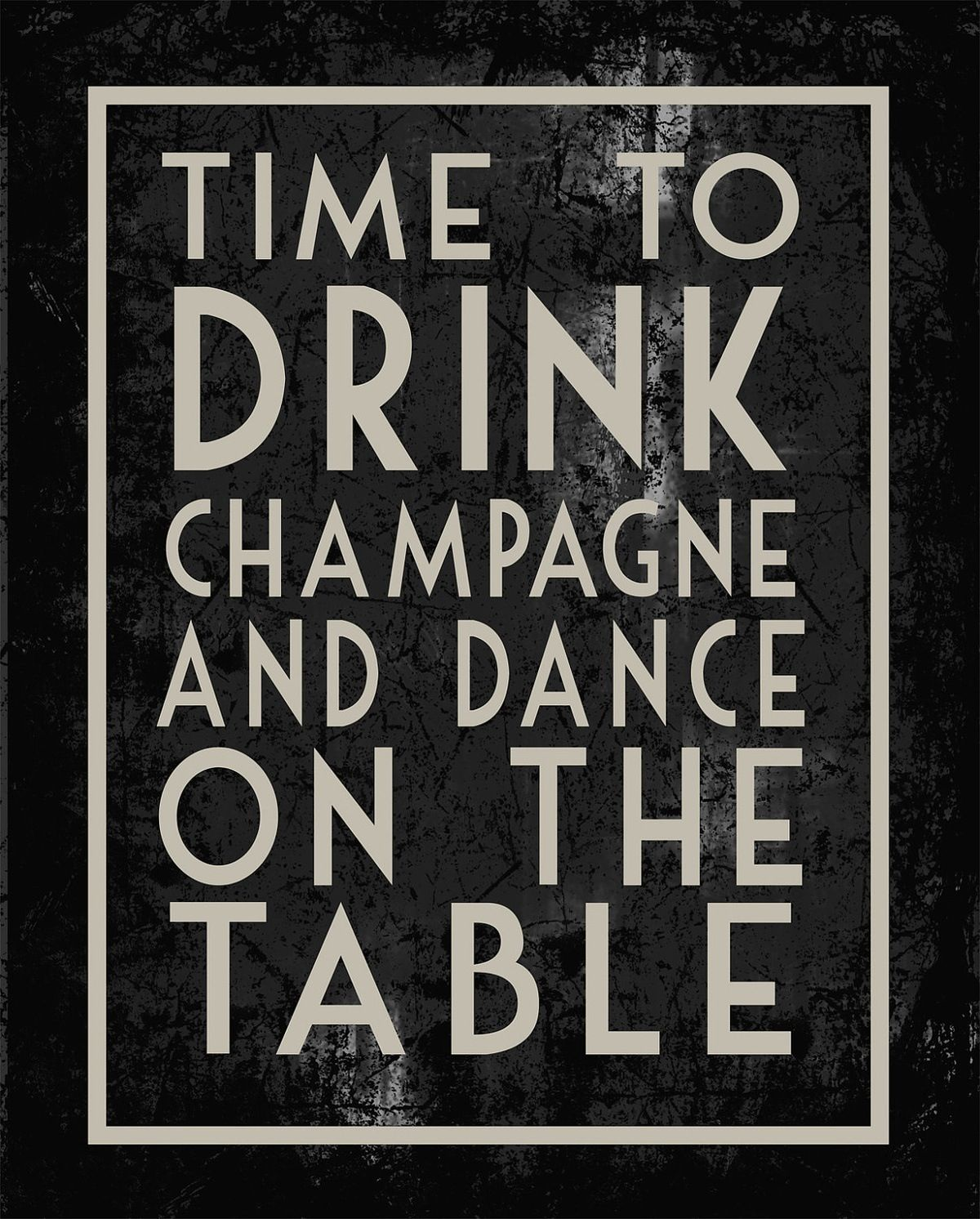 sounds about right! birthday poster change drink (With ...