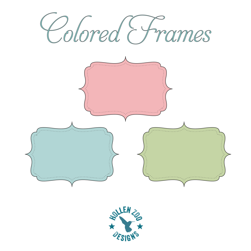 Scrapbook ideas download free - Free Color Frames To Use For Graphic Design Web Design And Scrapbooking