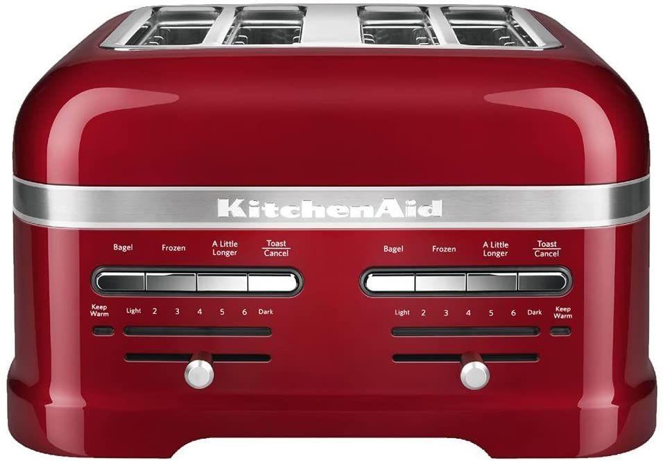 Kitchenaid 4 slice toaster red in 2020 toaster