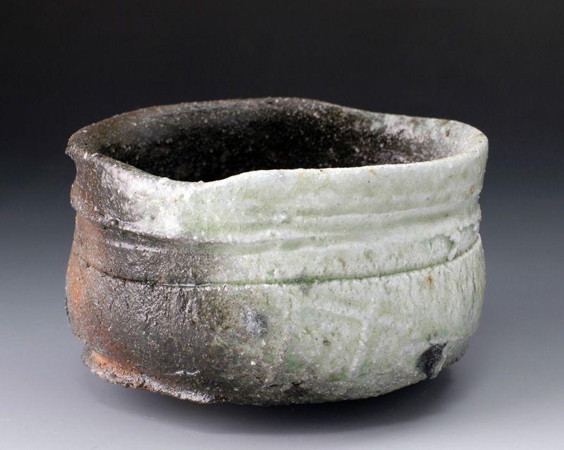John Dix, Natural ash chawan, hiki-dashi