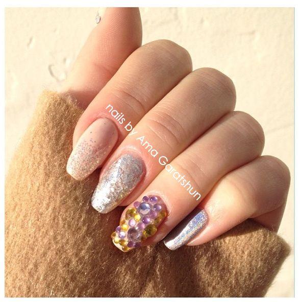 nail art by Ama Garatshun (With images) | Nail art, Nails