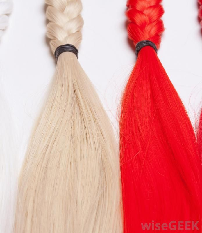 Hair Extensions Are Lengths Of Real Or Synthetic Hair Attached Close