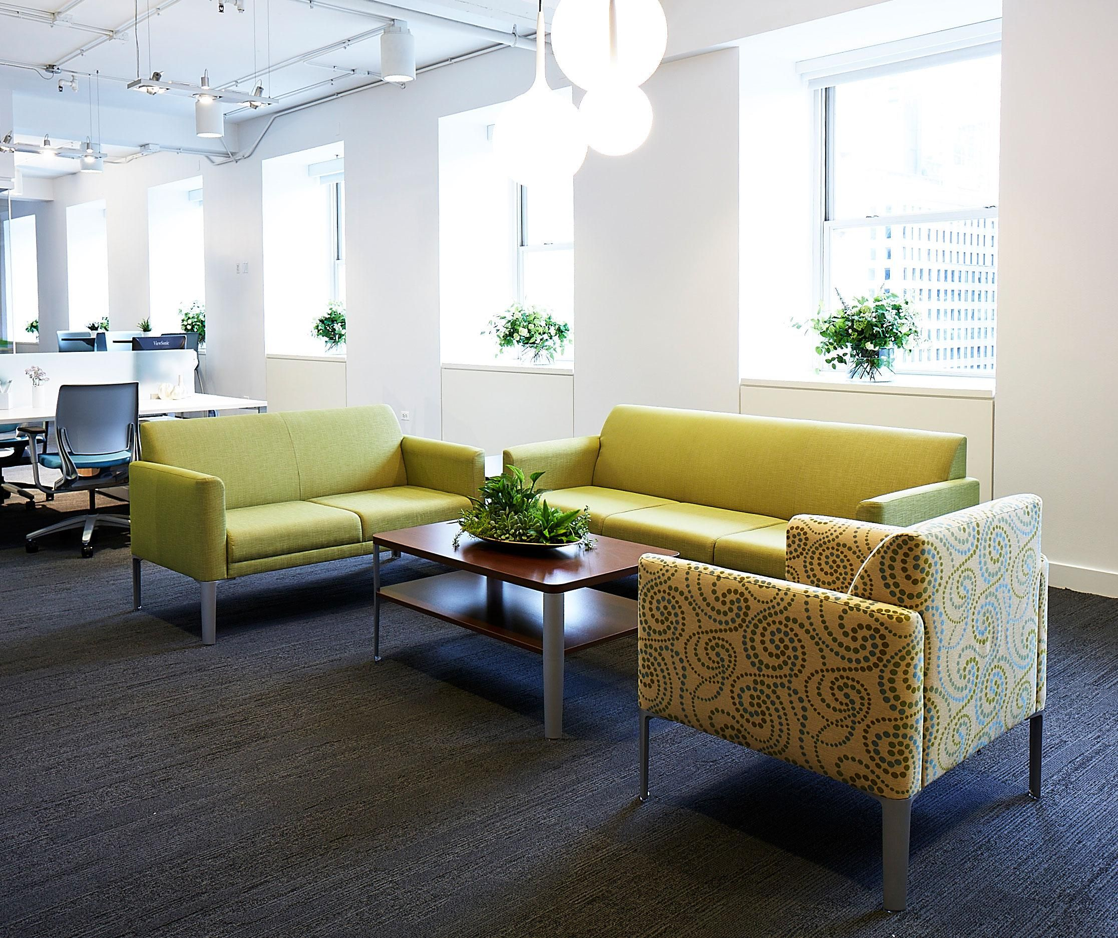 National fice Furniture Collaborative Lounge Seating and