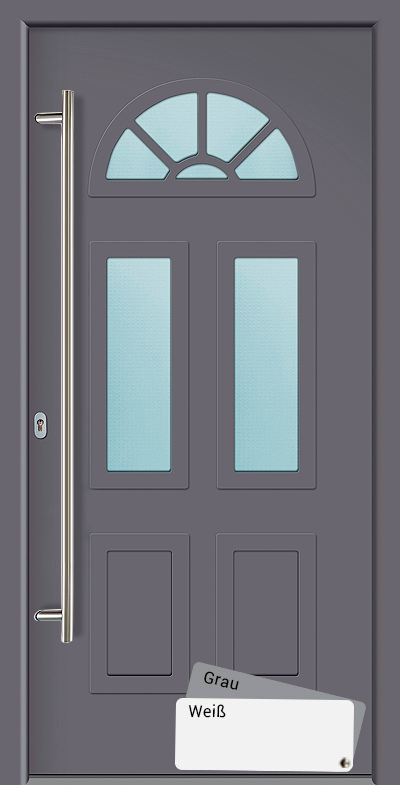 Die Akuri Eingangstur Ist Eine Wohlproportionierte Aluminium Haustur Mit Einem Flachenbundigen Turblatt Und Einer S Hauseingangsturen Eingangstur Alu Hausturen