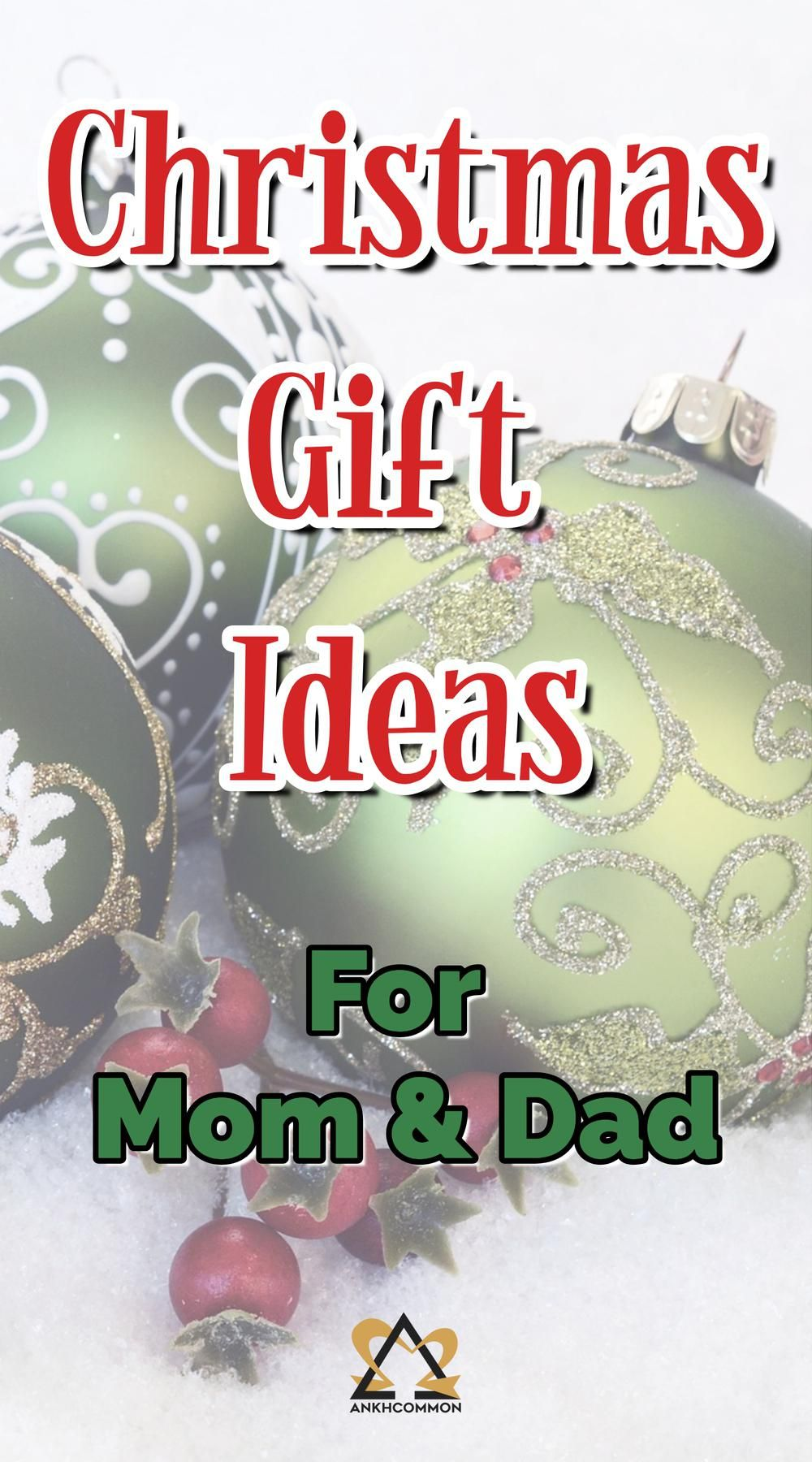 5 Christmas Gift Ideas for Mom and Dad | Christmas gifts ...