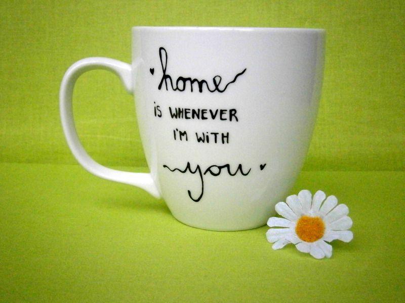 Geschenk  Tasse zum Muttertag mit Spruch von hochdietassen via dawanda.com