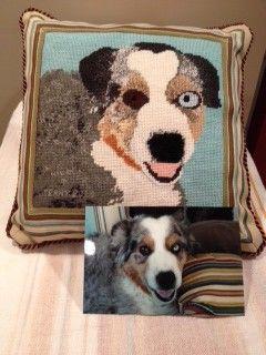 Dog Pillow Photo