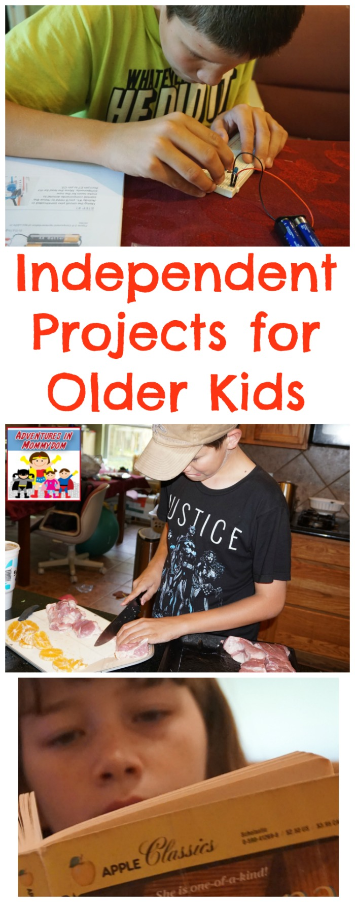 How to do independent projects with your middle school child