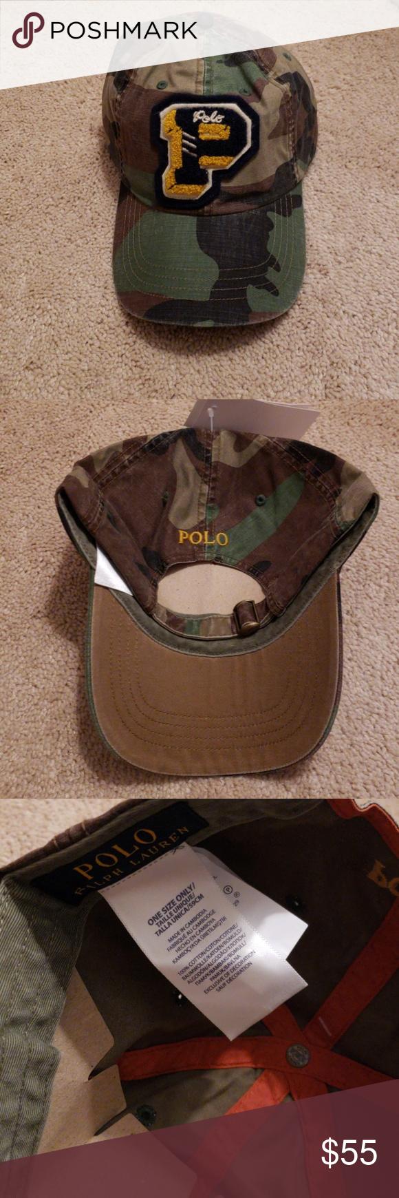 63d3853c98b Polo Ralph Lauren baseball cap Limited Edition camo baseball cap.. 100%  cotton Check out my closet for limited edition polo bear Polo by Ralph  Lauren ...
