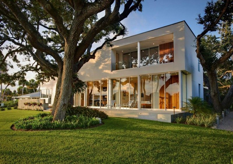 The Barrier Island House Respects Its Natural Surroundings - Contemporary-house-architecture-to-get-surroundings-of-nature