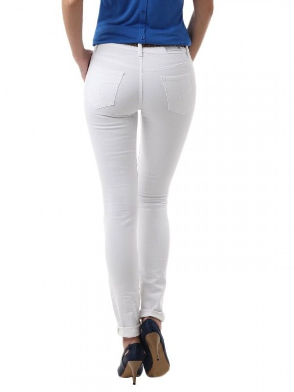 Tight white jeans for women | Clothing | Pinterest | The o'jays ...