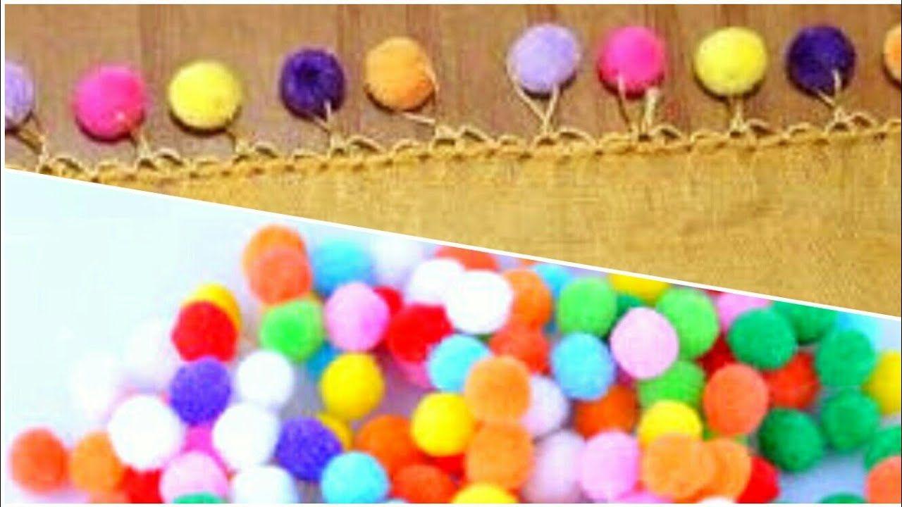 Çeşitli Ponpon Modelleri ve Ponpon Yapılış Örnekler