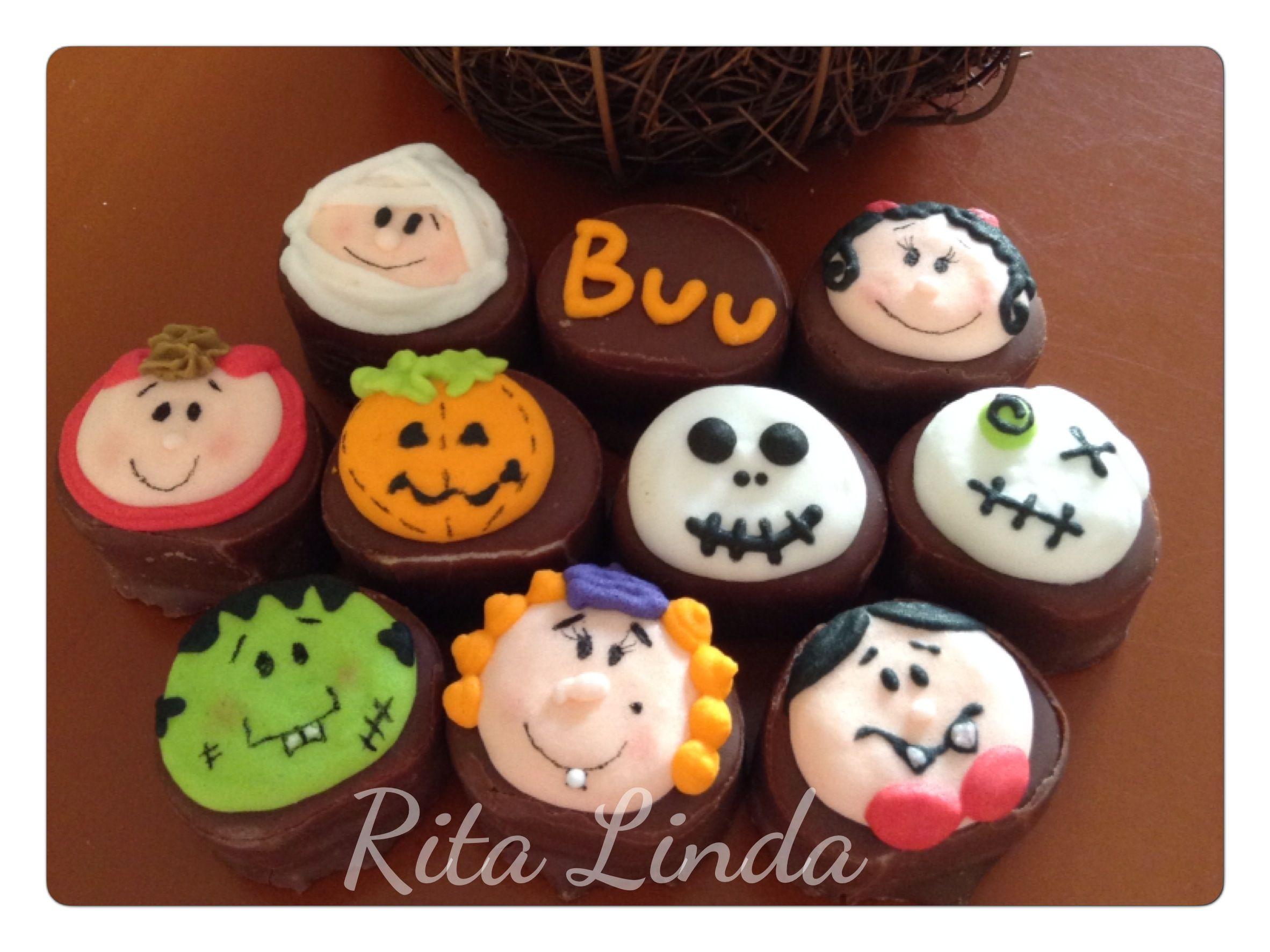 Dulces bombones de Halloween by Rita Linda