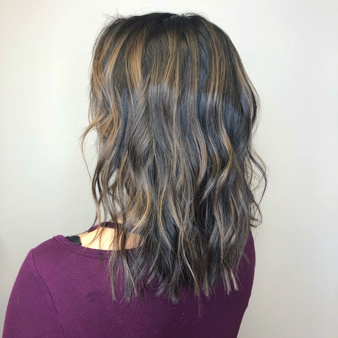 Brunette Beauty With Deepened Base Color And Highlights For A Natural Blended Look Caracollinshair Best Hair Salon Brunette Beauty Cool Hairstyles