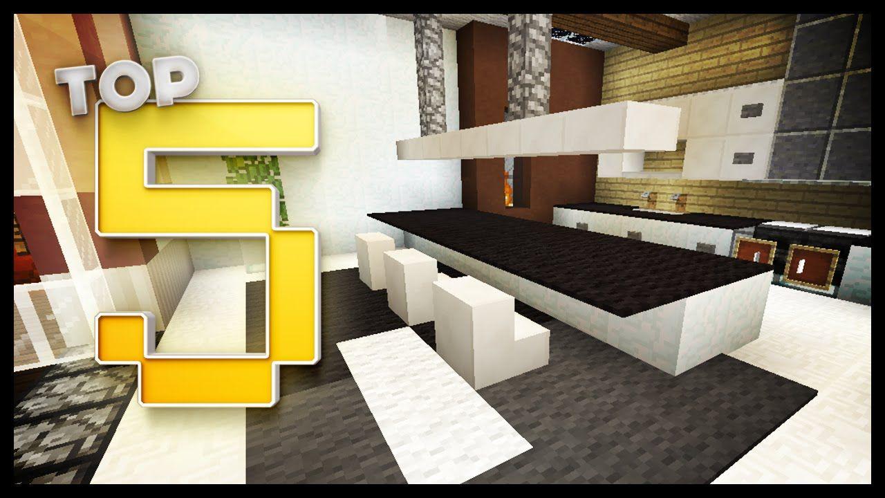 Minecraft Kitchen Designs & Ideas. Log Cabin Decor