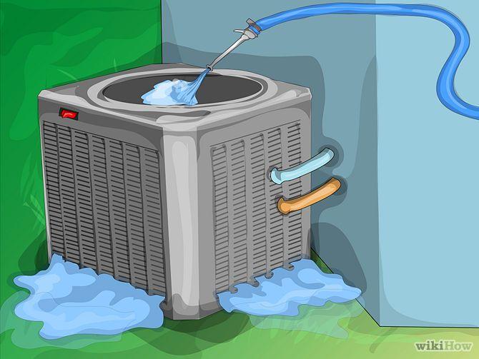 How To Clean An Air Conditioner Clean Air Conditioner Air Conditioner Air Conditioner Maintenance