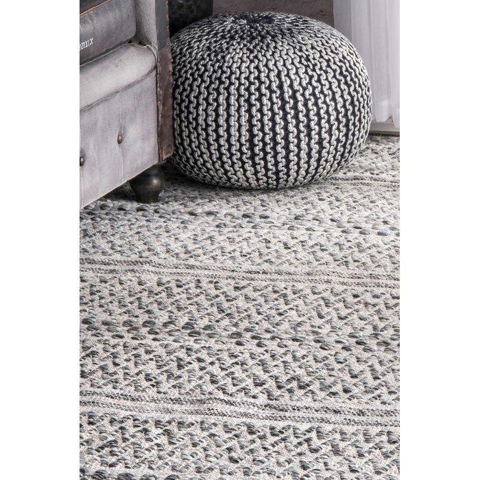 Cordell Cotton Silver Indoor Area Rug Area rugs, Area