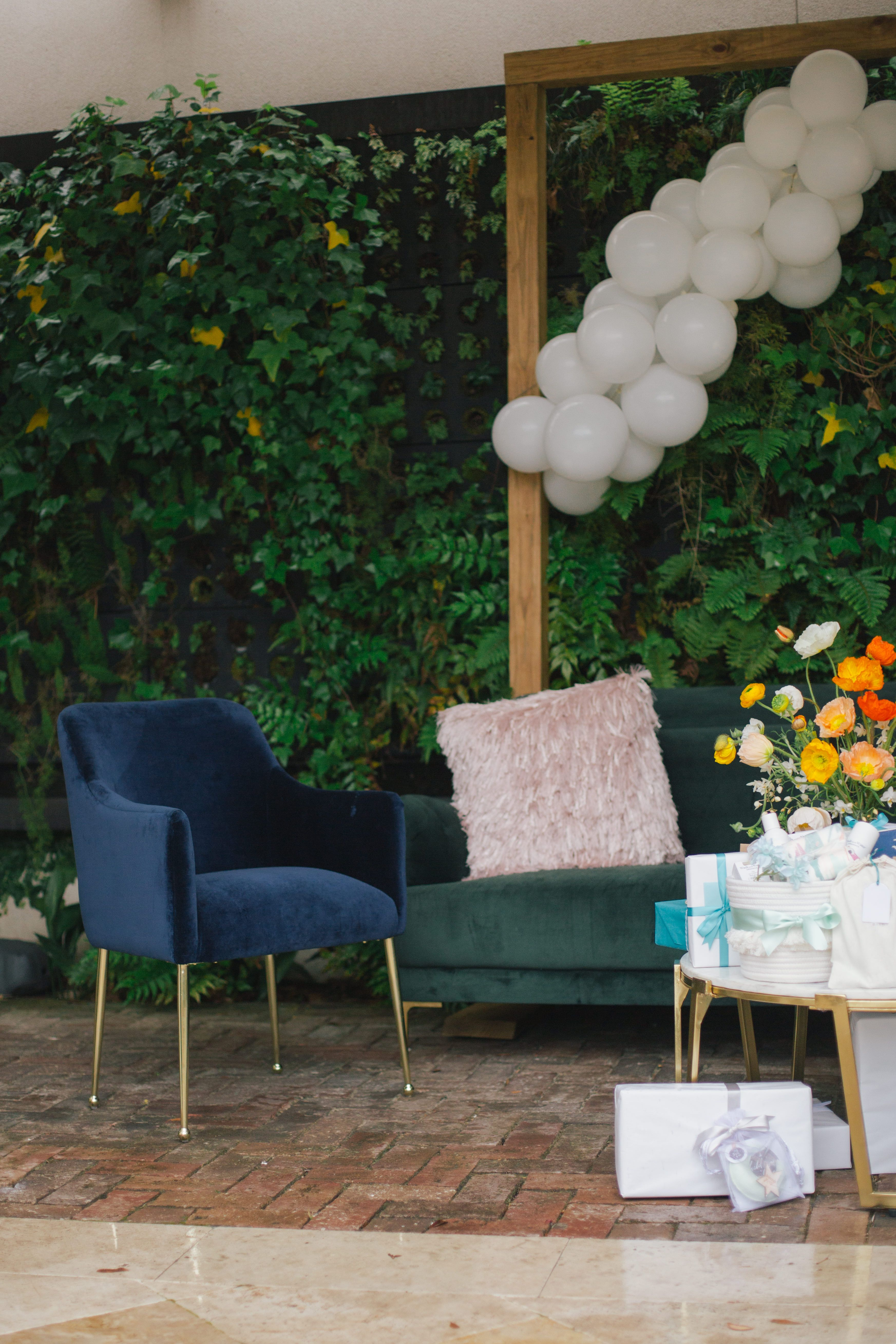 Modern Decor For A Sophisticated Baby Shower At Cannon Green In Charleston S C
