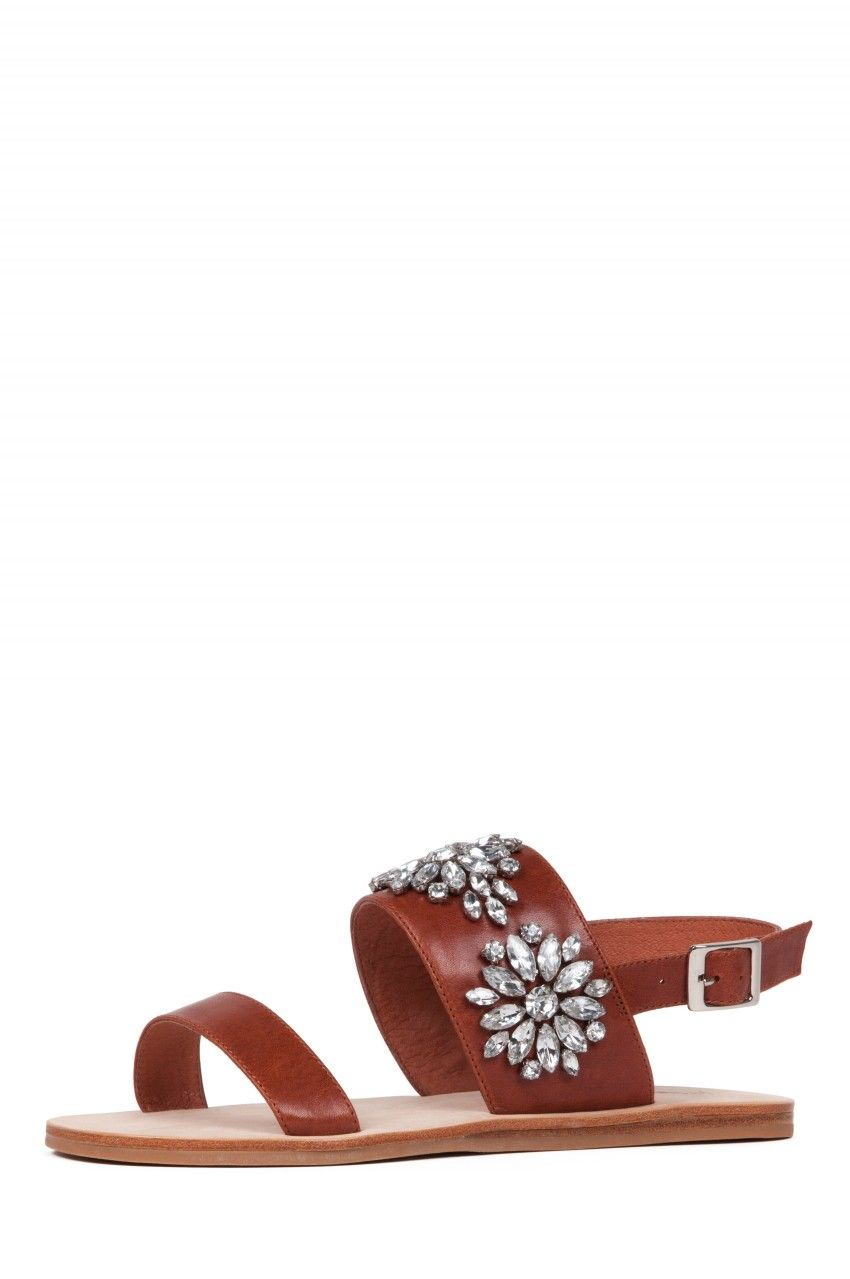 a3547fa862dd9 Jeffrey Campbell Shoes DOLA-JWL Sandals in Tan Clear