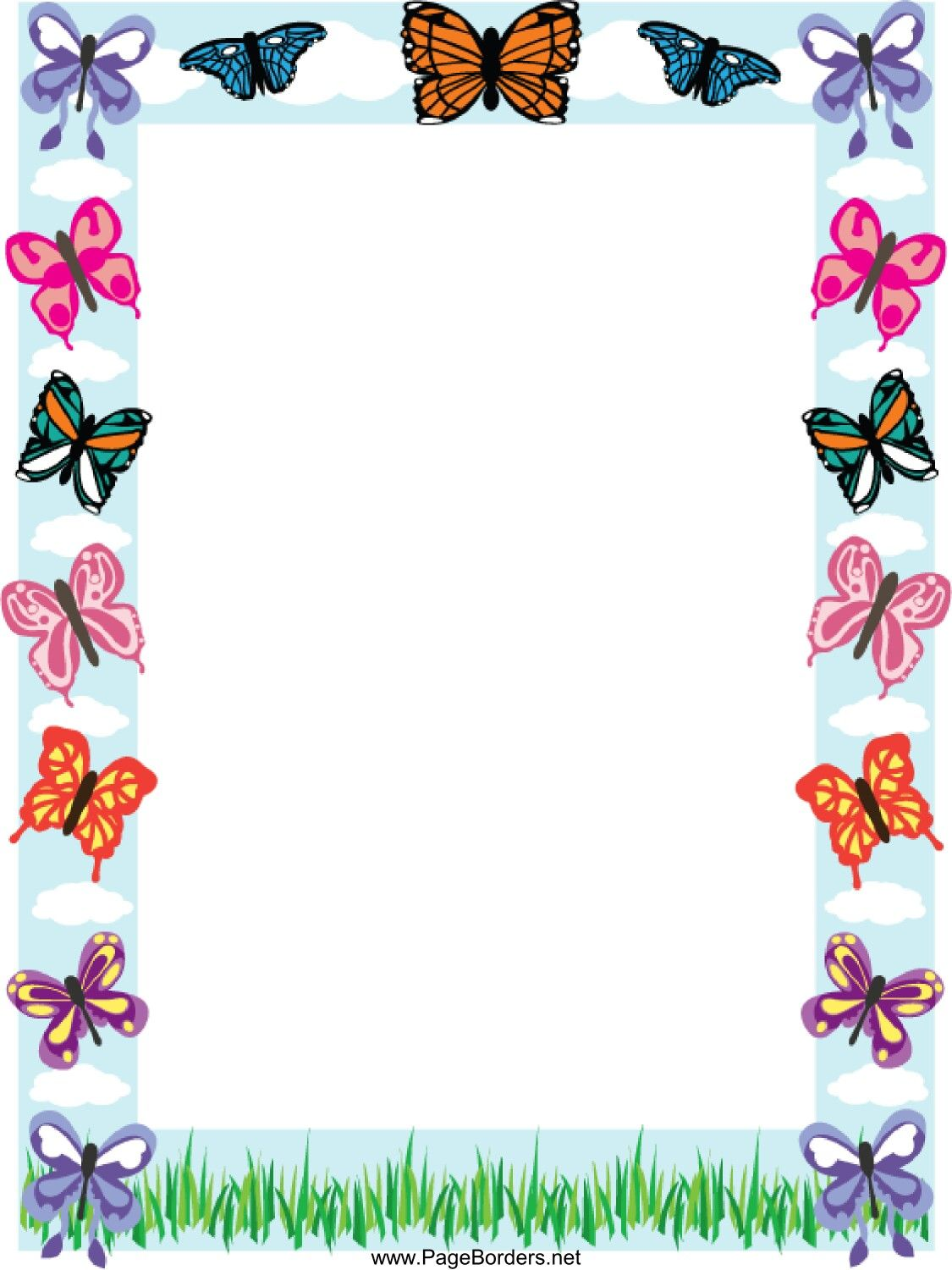 Mariposas | QUADROS BASE PARA ESCRITA | Pinterest | Mariposas ...