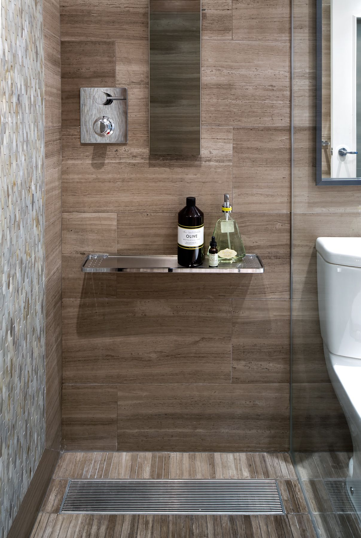 Condo Bathroom Shower Area Designed By Toronto Interior Design Group Www Tidg Ca Bathroom Design Inspiration Bathroom Design Toronto Interior Design Condo bathroom decorating ideas