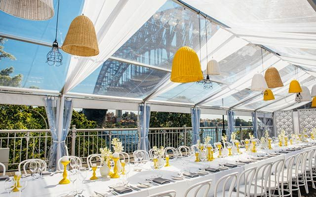 Wedding Venue Pier One Sydney Three Function Es All With Spectacular Harbour