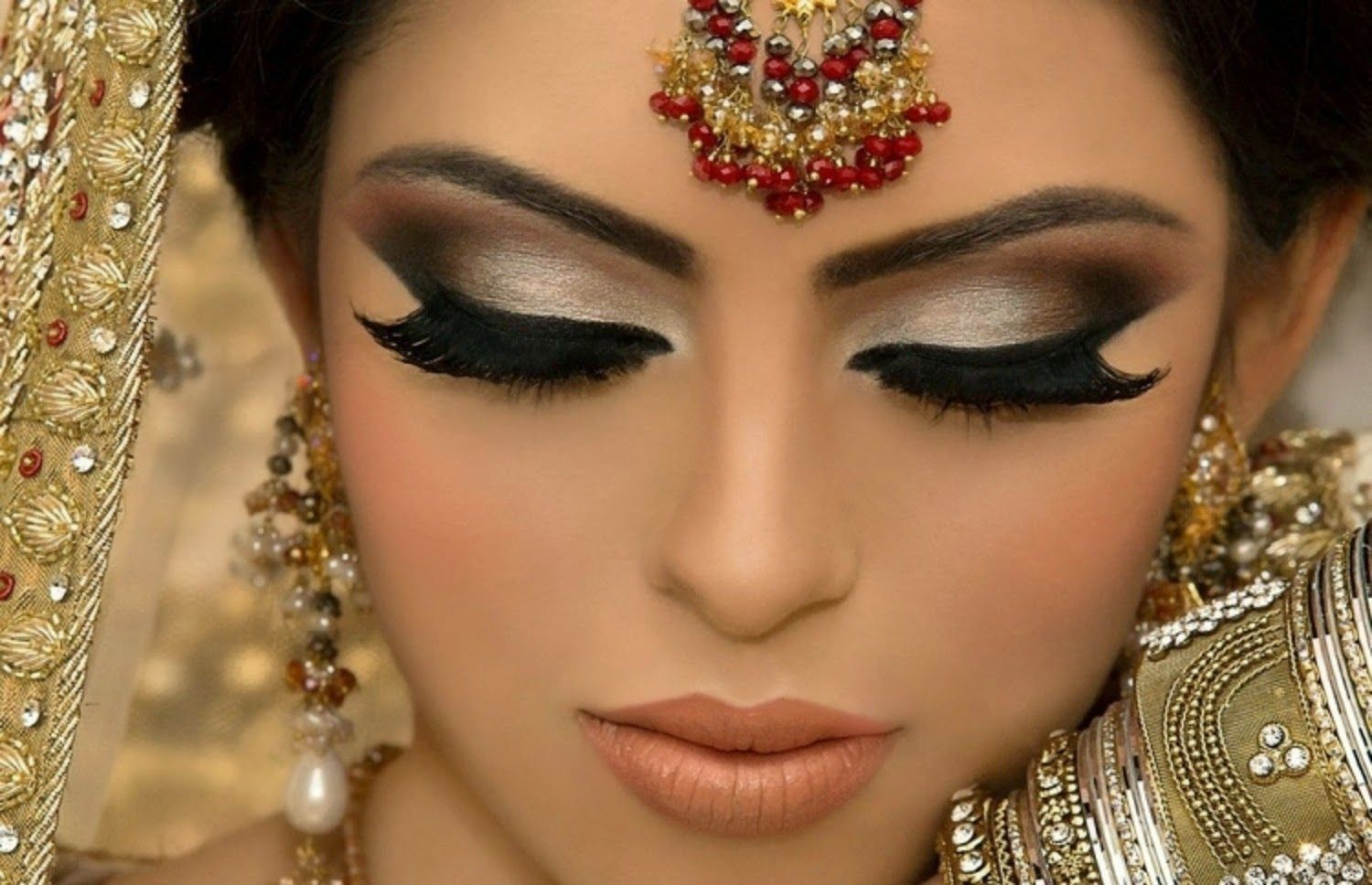new and most beautiful dulhan walima makeup image download