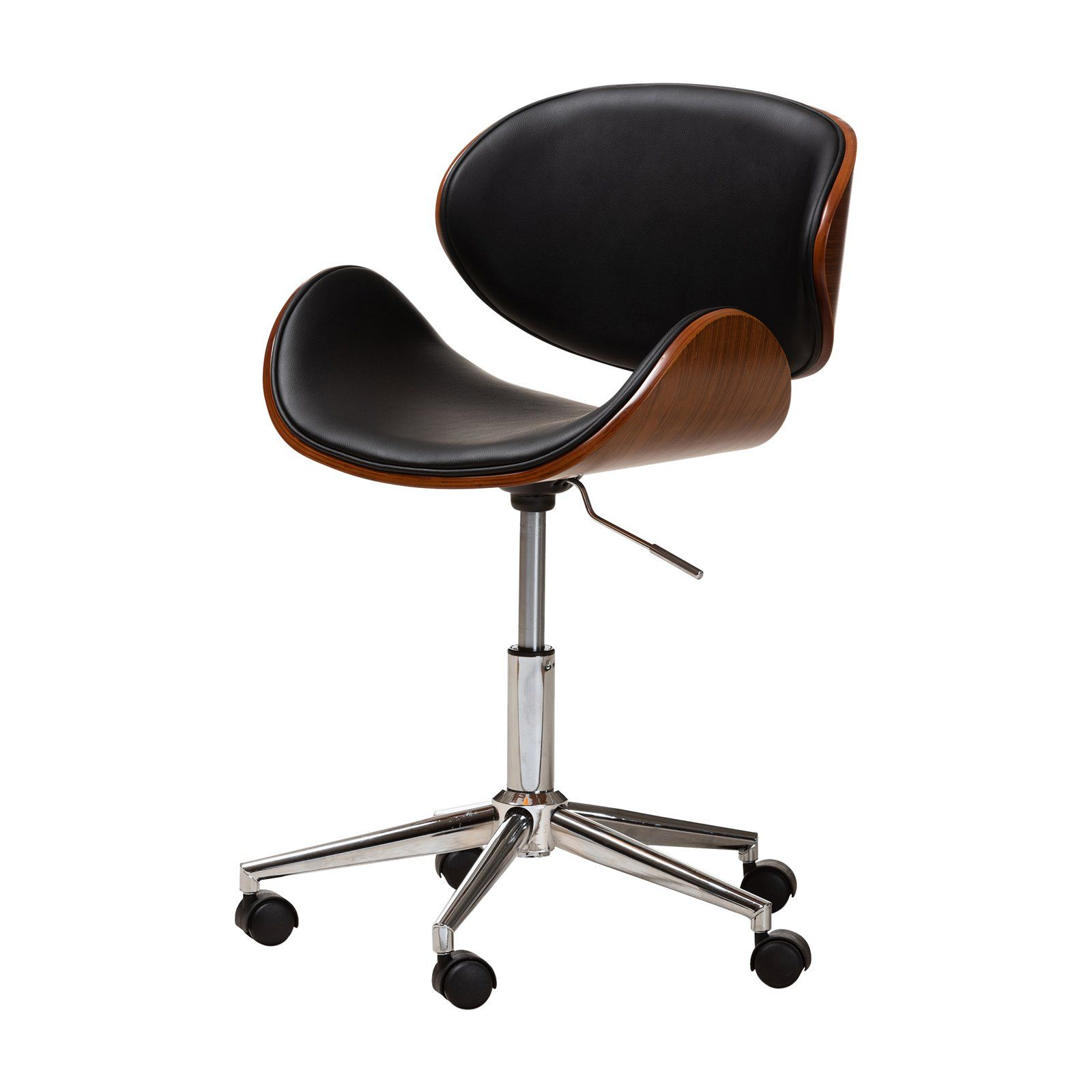 Baxton studio ambrosio modern adjustable office chair